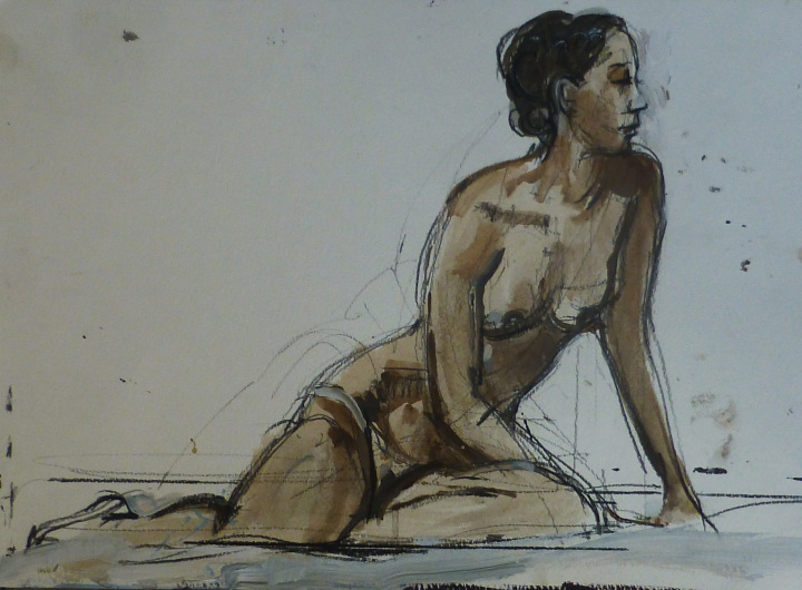 Life drawing classes with Mark Pearson
