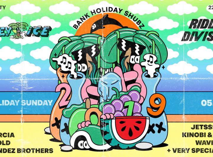 Wavey Ice x Riddim Division: Bank Holiday Shubz