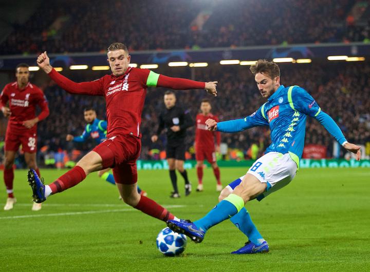 Napoli v Liverpool