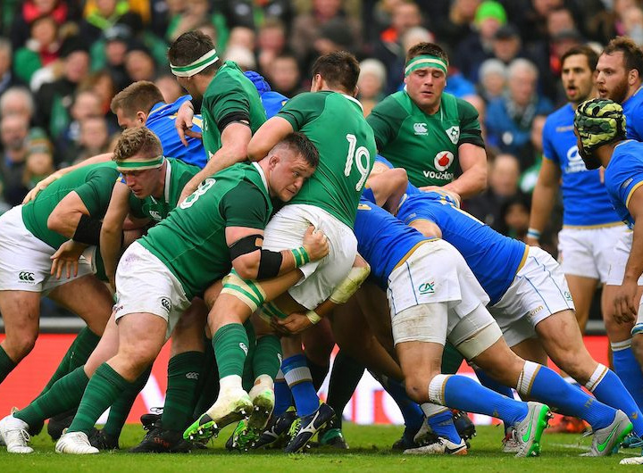 Six Nations: Ireland v Italy