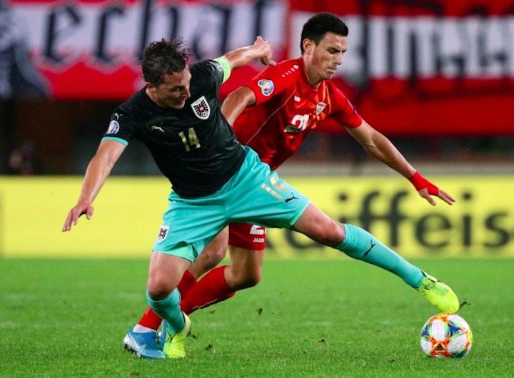 Austria vs North Macedonia